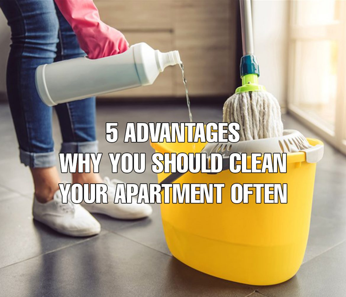 Cleaning your Apartment - 5 Advantages   SelectRE Boston