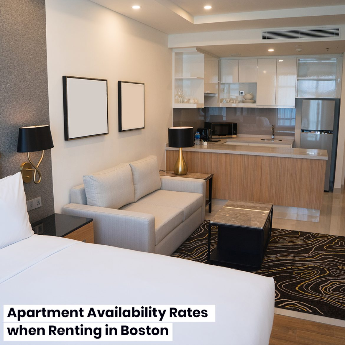 Apartment Availability Rates when Renting in Boston
